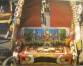 decorated rickshaws from India