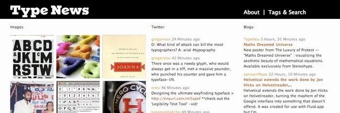screenshot from typenews.net
