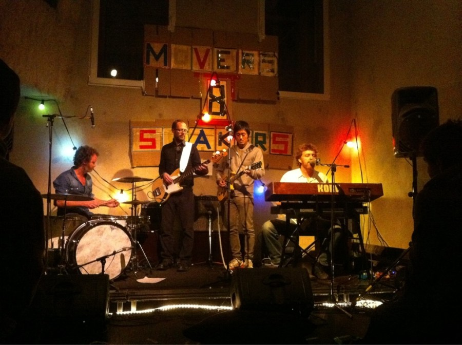 Sunday night concert at Ausland.