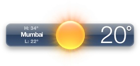 Stupid weather app is a lying P.O.S….