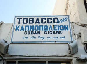 Hand Painted Signs of Mykonos