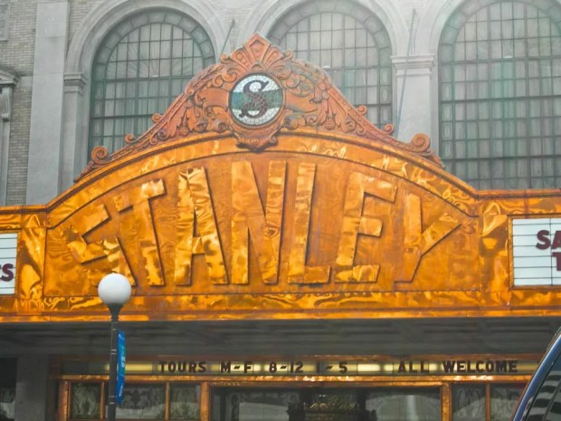 The Stanley Theater in Jersey City