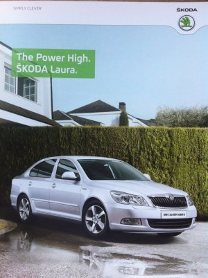 """Just discovered that the Škoda Octavia is called """"Laura"""" in India"""