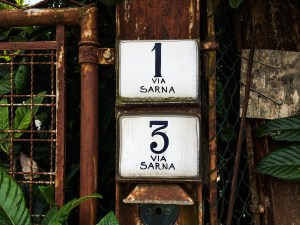 Faenza House Numbers