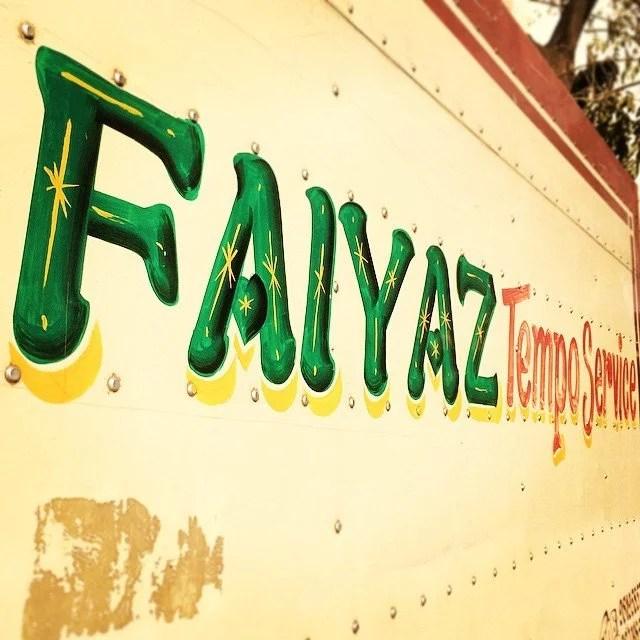 FAIYAZ Tempo Service from Mumbai.