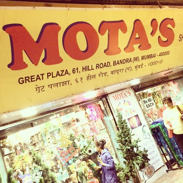 Our sister shop in Mumbai.