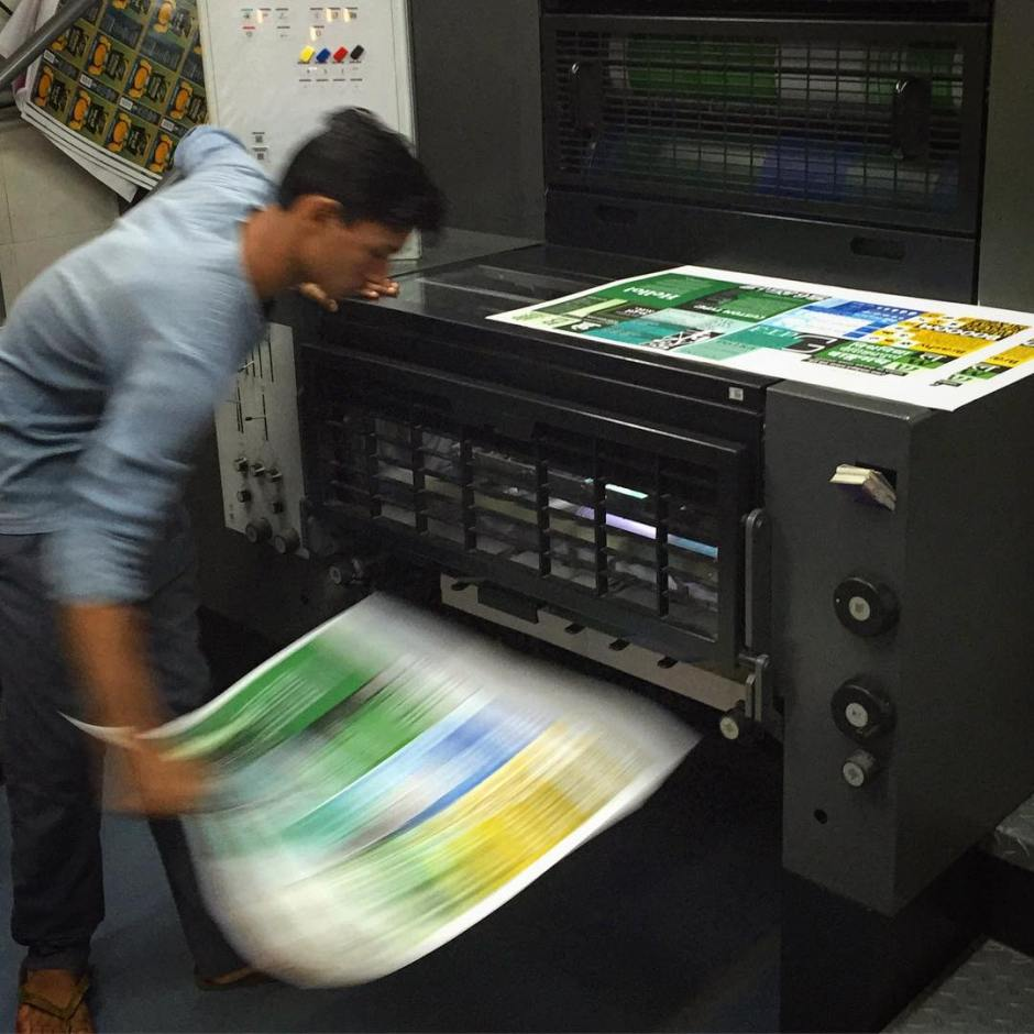Our new specimen is getting printed right now!