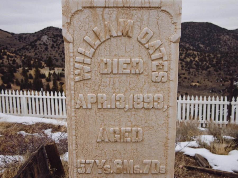 Silver Terrace Cemetery near Virginia City, NV