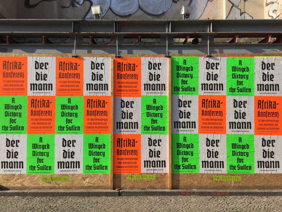 The Volksbuehne Theater Covers Berlin in Amazing Posters