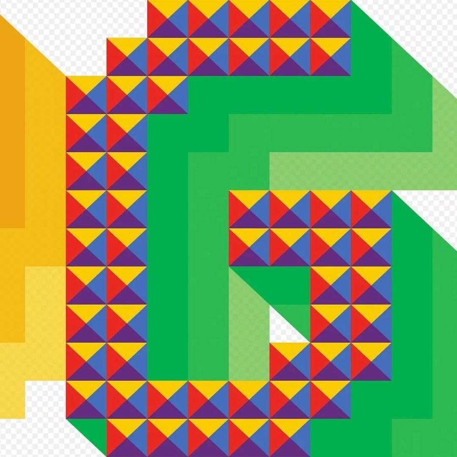 Pixel font G