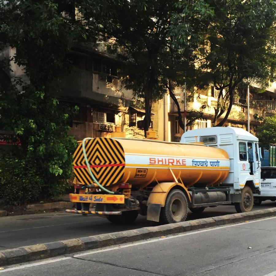 A very unique water truck!