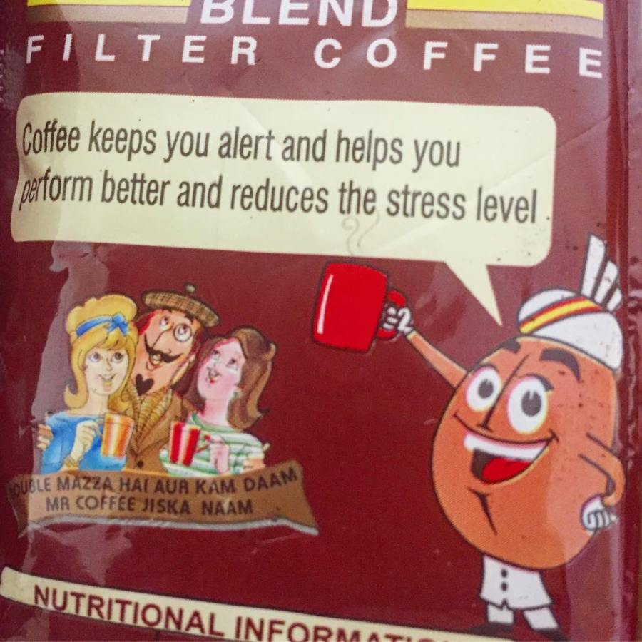 Coffee keeps you alert and helps you perform better…