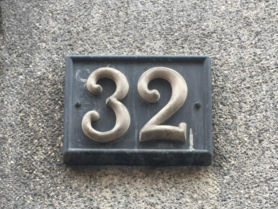Milan House Numbers