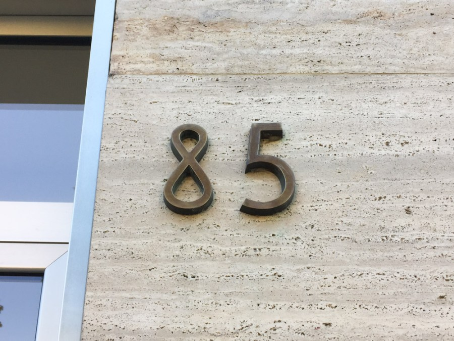 Como House Numbers