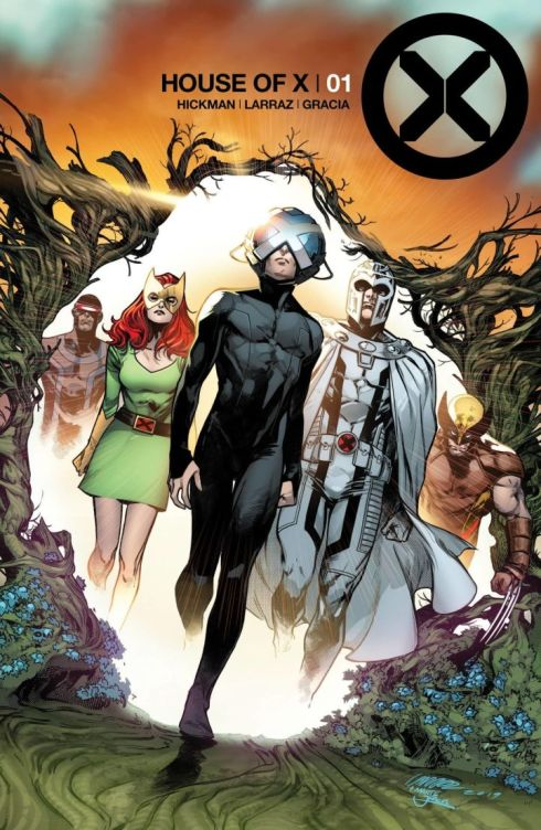 House of X 1 cover