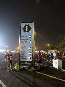 Enchanted 10K signage