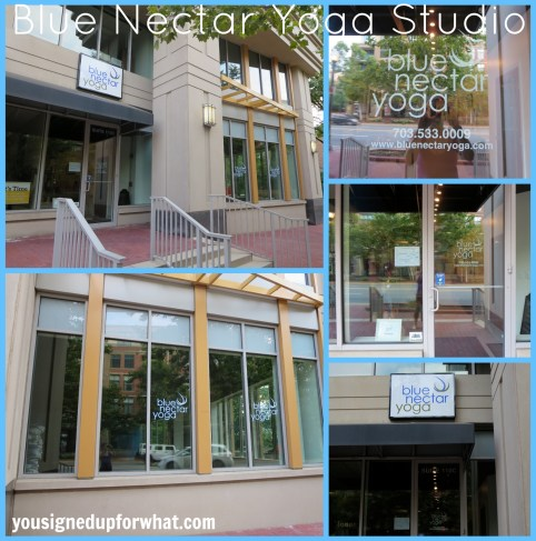 Blue Nectar Yoga Studio front view