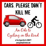 Cars, Please Don't Kill Me! An Ode to Cycling on the Road.