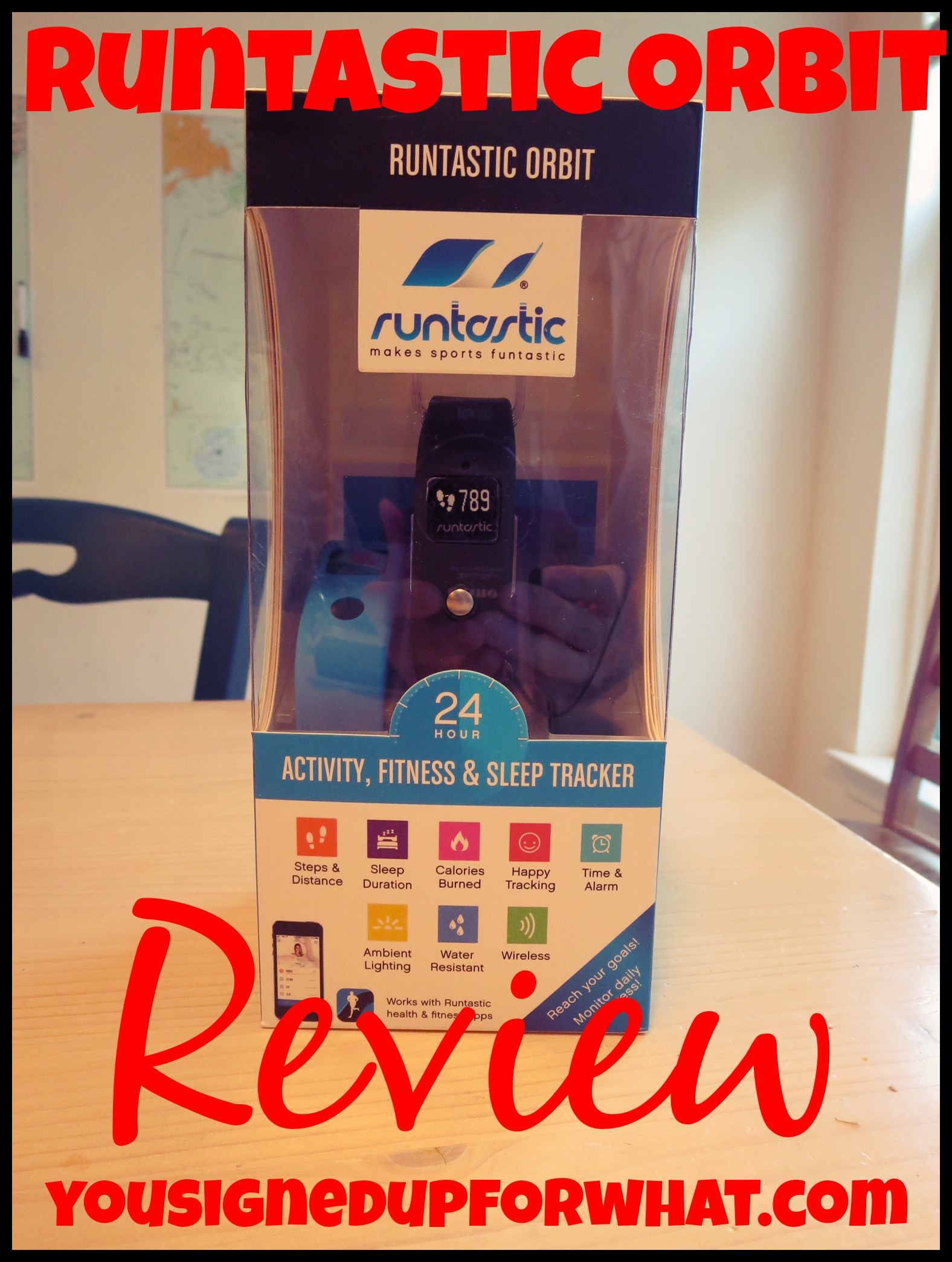 Runtastic Orbit Review Activity Tracker Fun You Signed Up For - Orbit tracker