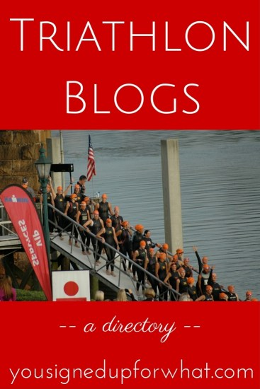 Triathlon Blogs