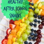 7 Healthy After School Snacks