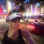 Running in South Beach, Miami