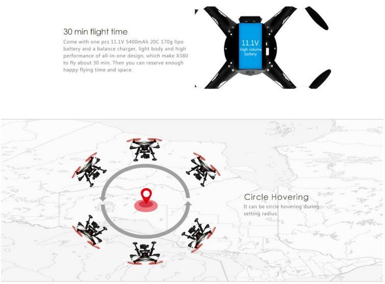 XK X380 Parts RC Quadcopter XK Detect X380 Racing drones