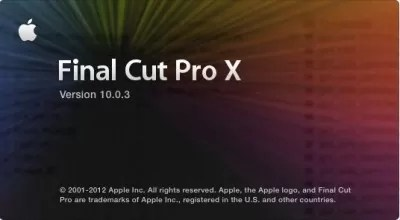 FCPX 10.0.3