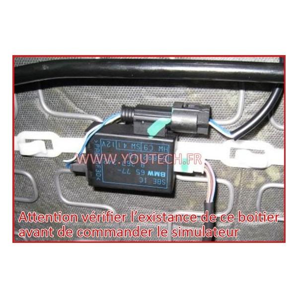 simulateur airbag bmw e90