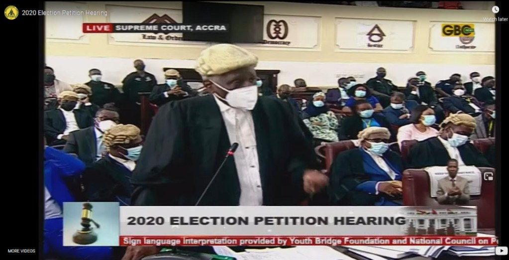 2020 Election Petition Hearing - Advocacy gets results