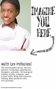 classroom poster health careers