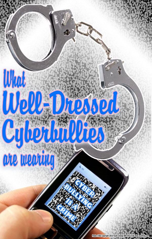 School cyberbullying poster