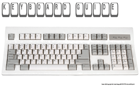Keyboarding Classroom Poster