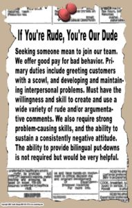 social skills poster for classrooms