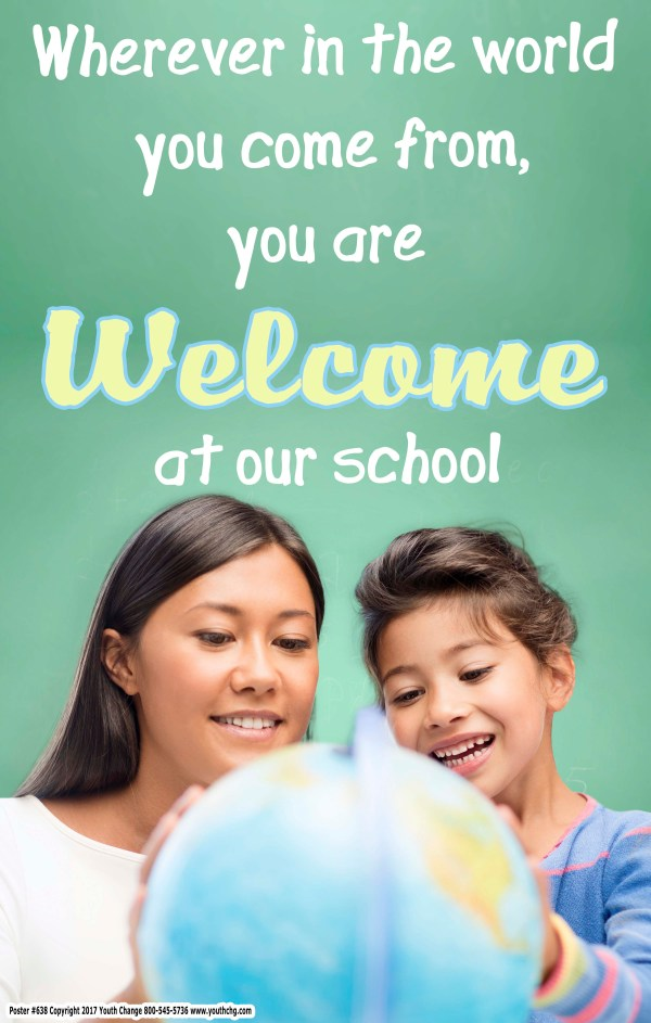 welcome to school poster for classrooms