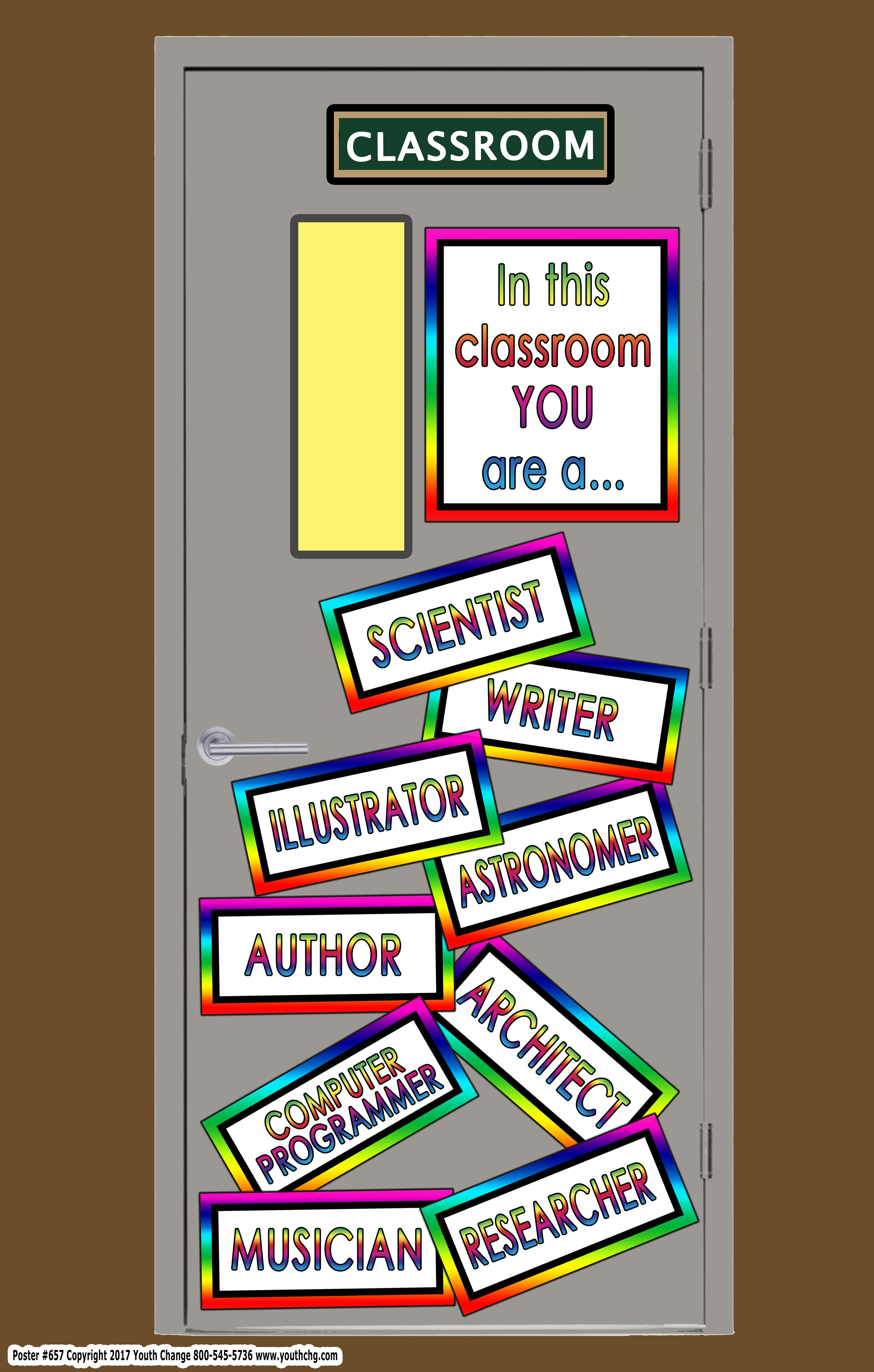 Poster 657 Career Poster For Elementary And Middle