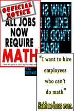 posters for math teachers