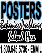 posters for behavior problems