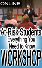 how to teach at-risk students workshop