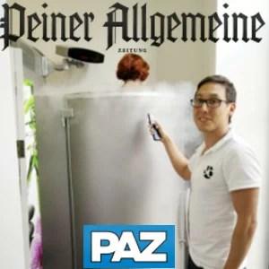 Geschützt: Peiner Allgemeine Zeitung (PAZ): Speckröllchen werden schockgefrostet