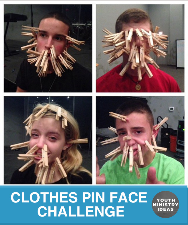 Clothes Pin Face Challenge - Youth DownloadsYouth Downloads