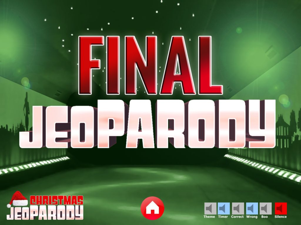 Christmas Jeopardy Powerpoint Template Youth DownloadsYouth Downloads