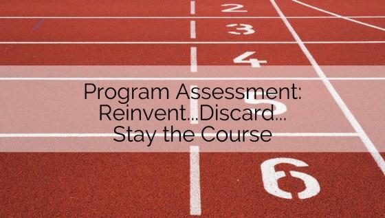 youth ministry program assessment