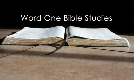 Word One: First Assignment…Test (Lent 1C Gospel)