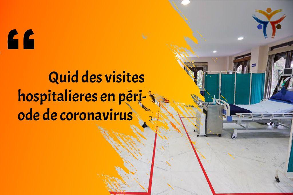 在挑战期间,冠状病毒感染期间医院的访问情况如何?
