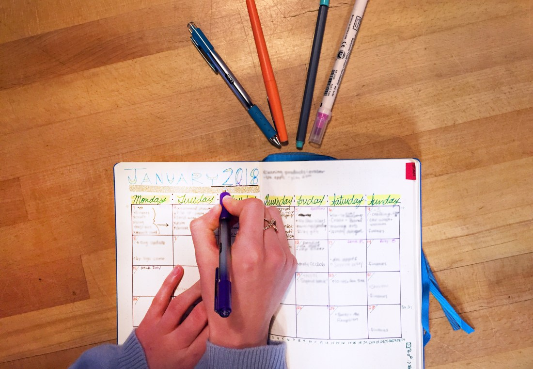 Turning Tasks into Intention with a Bullet Journal