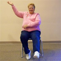 Chair Aerobics | Seniors Fitness | Youthful Hearts