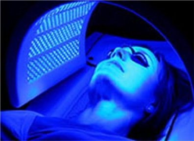 Image result for blue light therapy