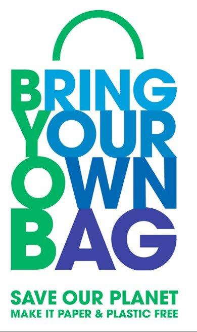 No Plastic November Don't use plastic bag