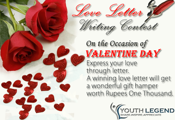 Love letter writing contest 2015 youth legend love letter writing contest nepal spiritdancerdesigns Image collections